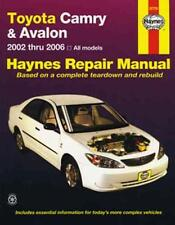 NEW HAYNES WORKSHOP SERVICE REPAIR MANUAL BOOK : TOYOTA CAMRY AVALON 2002-2006