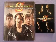 Hunger Game Books OFFICIAL ILLUSTRATED MOVIE COMPANION & TRIBUTE GUIDE Lot 500-T