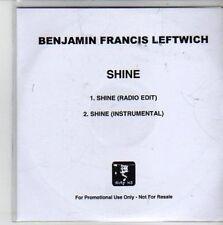 (CG991) Benjamin Francis Leftwich, Shine - 2011 DJ CD