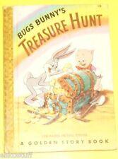 Bugs Bunny's Treasure Hunt 1949 Golden Story Book Nice Pics!  SEE!