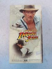 Harrison Ford ADVENTURES OF INDIANA JONES 3 VHS Box Set Paramount 1989