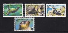 103830/ Tristan da Cunha 2004 - Mi 821/4 - Subantarktischer Seebär / WWF - **