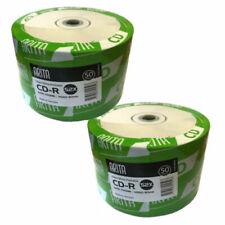 200 Arita Ritek Full Face White Printable Blank CD-R CD 52x Discs 700MB 80min