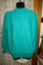 VINTAGE  80'S ~ BROMLEY ~ Green ~ JUMPER/TOP * Size 16-20 *  REDUCED !!