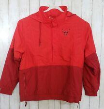 Nike NBA Chicago Bulls Courtside Hooded Jacket Red/ burgundy AH4323 SIZE XXL 2XL