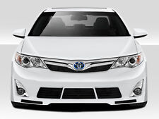 12-14 Toyota Camry Duraflex Racer Front Lip Air Dam 1pc Body Kit 109339