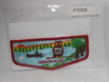 IMMOKALEE LODGE 353 VINTAGE FLAP F11509
