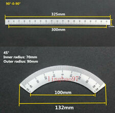 2pcs Set Bridgeport Mill Milling Machine Part 45 90 Degree Angle Plate Parts