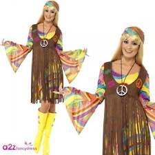 1963er schicke Lady Hippie Damen Kostüm M