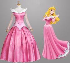 Adult Cinderella Snow White Aurora Costume Fairytale Princess Dress Cosplay