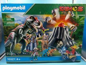 neuf jouet playmobil dinos 70327 91pc 4 ans +