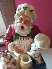 Pillsbury Doughboy Poppin'Fresh DanburyMint Santas Helper 2000