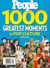 Magazine - PEOPLE - 1000 Greatest Moments in Pop Culture 1974 - 2011