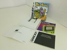 RHINO RUMBLE GAMEBOY COLOR  RARE BOX/TRAY& INSERT ONLY ( NO GAME or MANUAL) P15