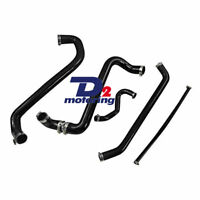 Silicone Radiator Heater Black Hose For FORD AU FALCON 4.9L V8 INC XR8 1998-02
