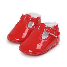 Bebé PU piel Zapatos primeros pasos de gateo Pantuflas Zapatillas cuero MODE