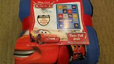 Disney/Pixar Cars Twin Full Sized Hand Stitched Patchwork Quilt - 100% Cotton