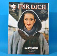 DDR FÜR DICH 44 1983 Ludwigslust Martin Luther Abrüstung BRD Frauen Mode Korn