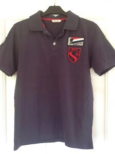 Stark Navy Blue Juneau Ski Club Polo Shirt