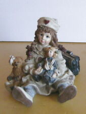 Yesterdays Child/Boyd Collection/Victorian Little Girl Nurse with Doll/Take Look