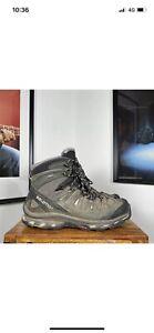 Mens SALOMON QUEST 4D 2 GTX Gore Tex Ankle Walking Hiking Boots - US11.5/UK11/46
