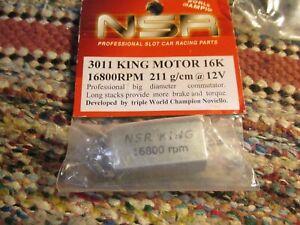 NSR KING 16.8K MOTOR,REF# 3011 new in package!