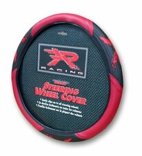Red R Racing Velocity Steering Wheel Cover Universal Fit 14.5''-15.5''