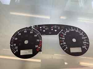 Volkswagen Golf 4, MK4 340km/h 8400 RPM dials Tachoscheiben