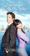 Two Weeks Notice (VHS, 2003)  FREE SHIPPING