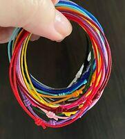 Cord Bracelet Mens String Surfer Women Unisex Waterproof Beach Jewelry USA