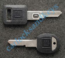 1991-1996 Chevrolet Corvette OEM Vats Key & Secondary H Key Blank Blanks
