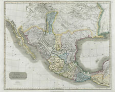 """Spanish North America"". THOMSON. Texas, Mexico & Southwestern USA 1830 map"