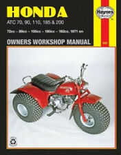 Honda ATC70, 90, 110, 185 and 200 Owner's Workshop Manual (Motorcycle Manuals).