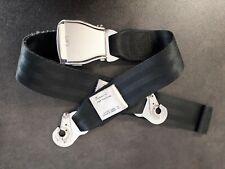 Seatbelt Sitzgurt Original Schwarz Airline Airbus BOEING Flugzeug