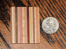 Cutting Bread Board - Striped Variegated Wood 1:12 Scale