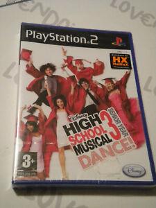 High School Musical Dance 3 Walt Disney PLAYSTATION Juego Nuevo Sellado Pal