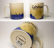 ▓#▓ Starbucks GDYNIA Poland City Mug Icon * NEW with SKU * 16oz ▓#▓