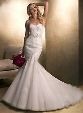Never Worn++Maggie Sottero Julia Wedding Dress in Ivory size 10
