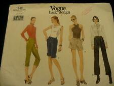Vogue shorrts pants EASY sewing pattern basic design No. 1948  size 12-16