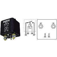 Durite Heavy Duty relay marca / interruzione 100 Amp 12 Volt 0-727-10