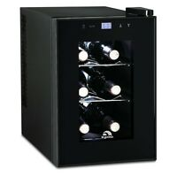 Igloo 6-Bottle Countertop Wine Cooler- Digital Temperature Control (Refurbished)