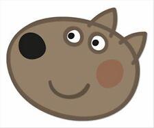 Dany Chien de Peppa Pig Officiel Amusant CARTE Simple Fête Masque Visage