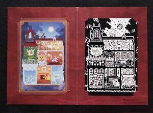Eevee & Evolutions Pokemon Center Postcard Set Japanese Nintendo Japan F/S
