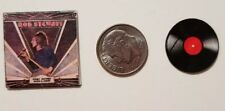 "Miniature Dollhouse  record album Barbie  1/12    1"" Rod Stewart Picture story"