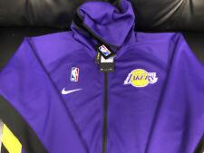 Los Angeles Lakers Showtime Nike Thermaflex Jacket w. Hood. Xxl Brand New