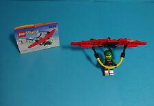 LEGO Town, Extreme Team~Hang-Glider/Hängegleiter, Drachenflieger(6585)&Anleitung