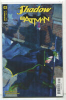 Batman- The Shadow #3  NM Cover A Dynamite/DC  Comics **21