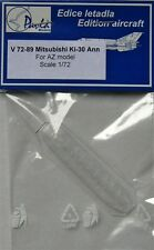 Pavla V72089 1/72 Vacform Auvent AZ Models Mitsubishi Ki-30 Ann