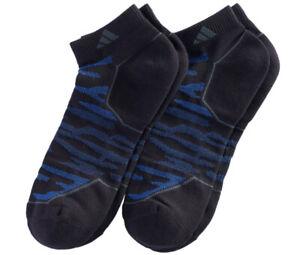 2 Pairs - Adidas Men's SUPERLITE Climalite Compression LOW Cut Socks - U CHOOSE