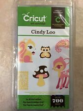 Cricut Cindy Loo Cartridge 2000333 NEW #120